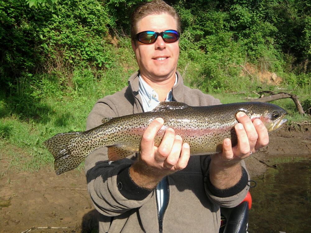 Big phil white river fishing report 09 28 10 10 05 10 for Ar fishing report