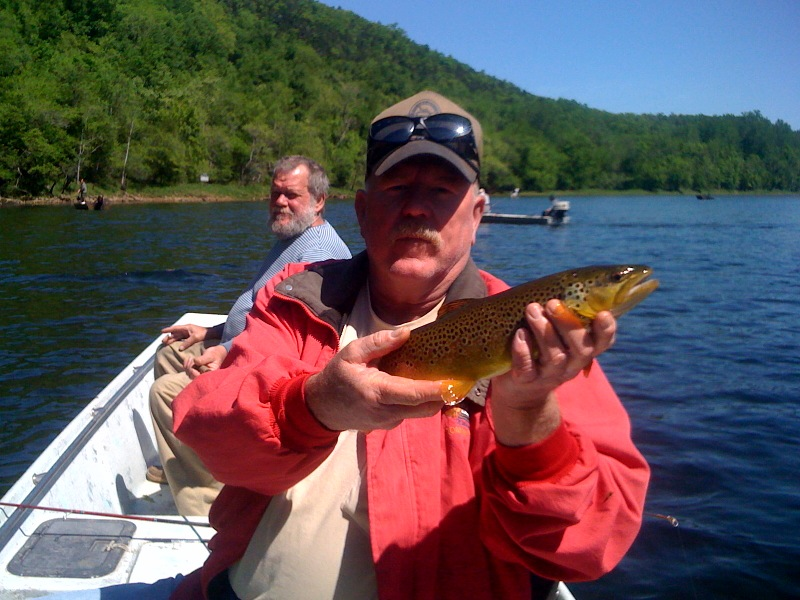 Fishing report fo the white river may 3 2011 for Bull shoals lake fishing report